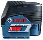 Комбинированный лазерный профессиональный нивелир Bosch GCL 2-50C+RM2+BM3+12V+LBOXX. Внесен в реестр СИ РК, фото 3