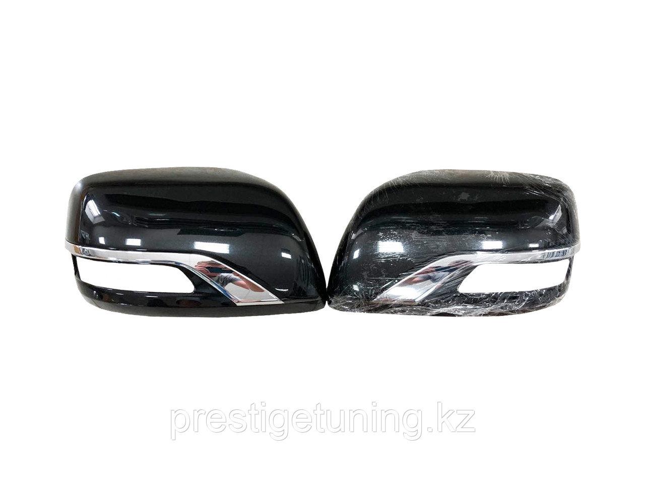 Корпуса зеркал executive black/white Land Cruiser 200 2012-21