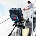 Комбинированный лазерный профессиональный нивелир Bosch GCL 2-50C+RM2+BM3+12V+LBOXX. Внесен в реестр СИ РК, фото 6