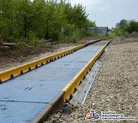 Железнодорожные вагонные весы ВТВ-С для повагонного взвешивания в статике 80 тонн