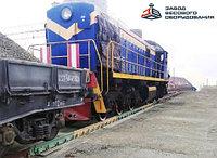 Железнодорожные вагонные весы ВТВ-С для повагонного взвешивания в статике 150 тонн