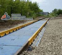 Железнодорожные вагонные весы ВТВ-С для повагонного взвешивания в статике 200 тонн