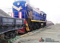 Железнодорожные вагонные весы ВТВ для статико-динамического взвешивания 60 тонн