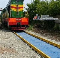 Железнодорожные вагонные весы ВТВ для статико-динамического взвешивания 80 тонн