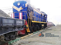 Железнодорожные вагонные весы ВТВ-С для потележечного взвешивания в динамике 30 тонн
