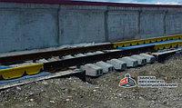Железнодорожные вагонные весы ВТВ-С для поосного взвешивания в динамике 30 тонн