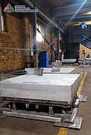 Весы платформенные электронные из нержавеющей стали ВП-П 1500 кг (1.5 тонны)