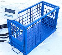 Весы для животных. Напольные весы для КРС ВП-С 1000 кг (1 тонна)