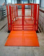 Весы для животных. Напольные весы для КРС ВП-С 2000 кг (2 тонны)