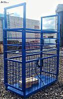 Весы для животных. Весы для КРС с подвесной клеткой ВП-С 100 кг