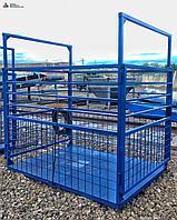 Весы для животных. Весы для КРС с подвесной клеткой ВП-С 1500 кг (1.5 тонны)