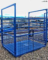 Весы для животных. Весы для КРС с подвесной клеткой ВП-С 2000 кг (2 тонны)