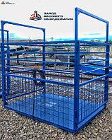 Весы для животных. Весы для КРС с подвесной клеткой ВП-С 3000 кг (3 тонны)