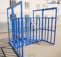 Весы для животных. Весы для КРС с подвесной клеткой ВП-С 5000 кг (5 тонн)