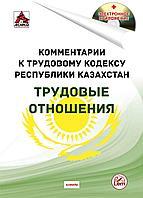 Комментарии к Трудовому кодексу РК  на 1 августа 2021 г. Трудовые отношения.(+Эл. приложение)