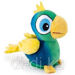 IMC Toys Club Petz Funny Попугай Benny интерактивный (зеленый), повторяет слова, шевелит клювом, мягконабивной