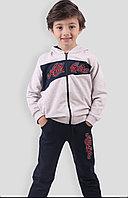 №16050 Бежевый костюм для мальч. Athletic 140-134 см 13801
