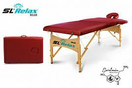 Портативный массажный стол Delux