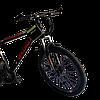 Велосипед Skillmax 26cм красно-черный, фото 2