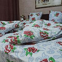 'Bed linen red rose'', кретон, семейка