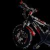 Велосипед Prego 20см красно-черный, фото 2