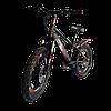Велосипед Prego 20см красно-черный, фото 3