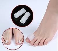 Напальчник силиконовый Защитное гель-кольцо для предотвращения мозолей на большой палец.  3 * 2 см