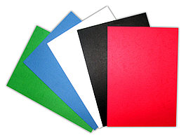 Обложки для переплета картон А4, 230 грамм (10 расцветок)