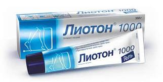Лиотон 1000  100гр гель