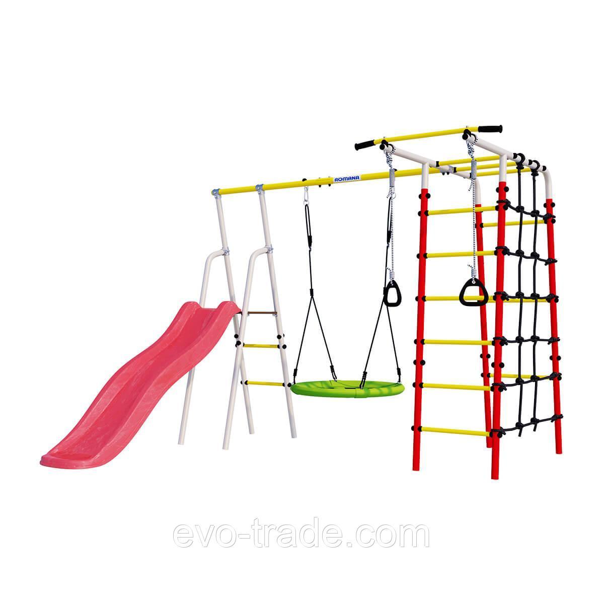 Детский спортивный комплекс Богатырь ROMANA (Качели гнездо)