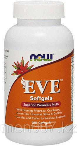 БАД Now Foods, EVE, комплекс мультивитаминов для женщин, 180 капсул
