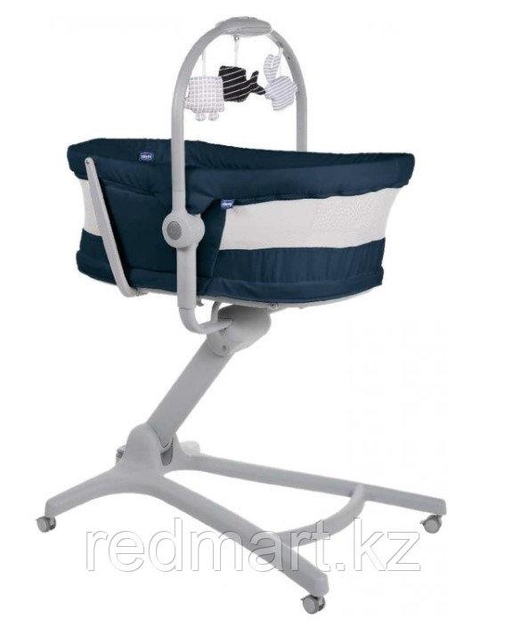 Кроватка-стульчик Baby Hug Air 4-в-1 India Ink