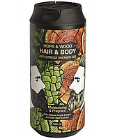 Гель для тела и волос хмель & дерево Chemical Barbers Anti-Stress Hops & Wood Hair & Body Gel 350 мл