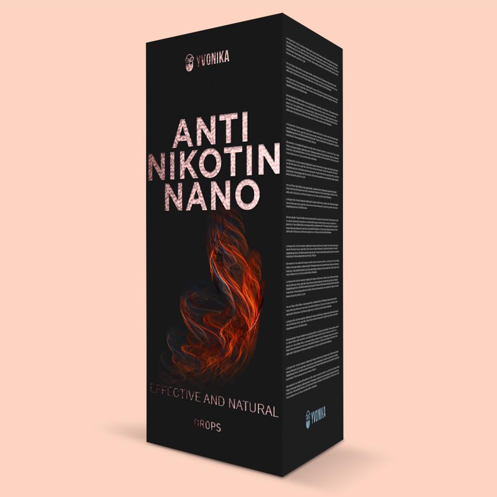 Anti Nikotin Nano (анти никотин нано) - капли против курения
