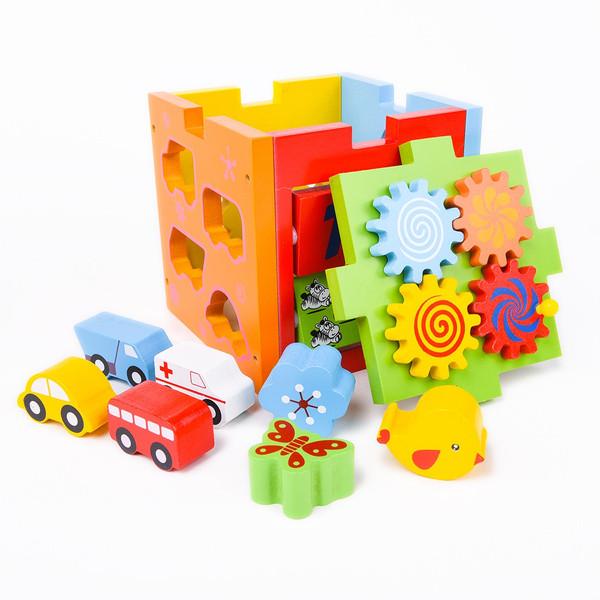 Многофункциональный сортер-куб