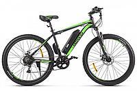 Велогибрид Eltreco XT 600 D (Черно-зеленый)