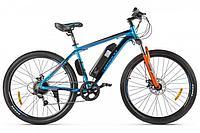 Велогибрид Eltreco XT 600 D (Сине-оранжевый)