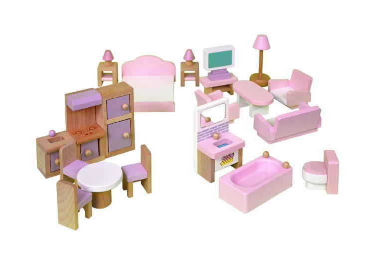 Набор мебели Babygarden для кукольных домиков BG-DHF-22 - фото 1