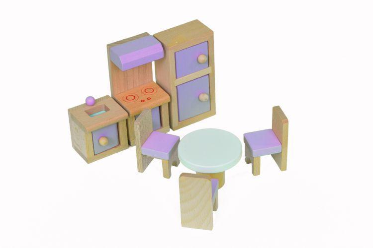 Набор мебели Babygarden для кукольных домиков BG-DHF-22 - фото 2