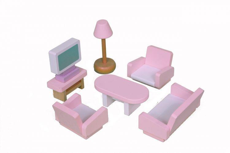 Набор мебели Babygarden для кукольных домиков BG-DHF-22 - фото 4