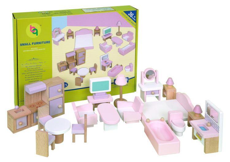 Набор мебели Babygarden для кукольных домиков BG-DHF-22 - фото 6