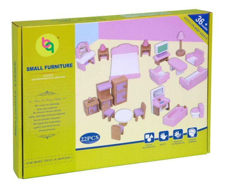 Набор мебели Babygarden для кукольных домиков BG-DHF-22 - фото 7