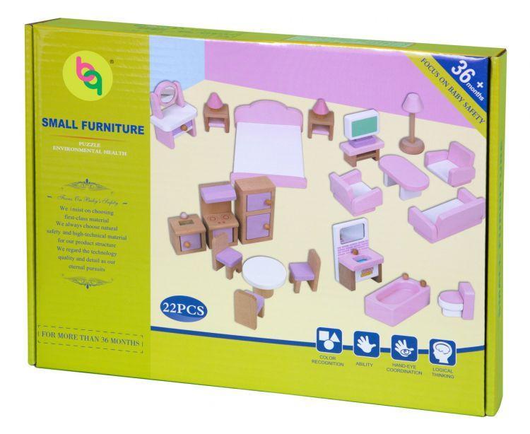 Набор мебели Babygarden для кукольных домиков BG-DHF-22 - фото 8