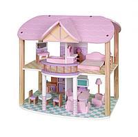Кукольный домик Babygarden FRIENDLY COTTAGE с мебелью BG-DH-FC