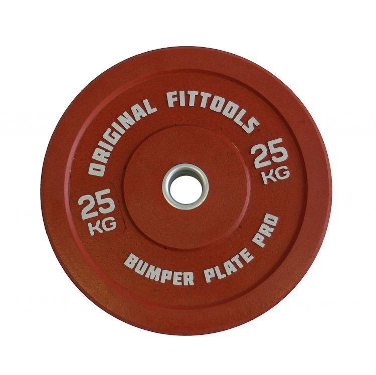 Диск олимпийский бамперный Original FitTools цветной (1,25 кг)