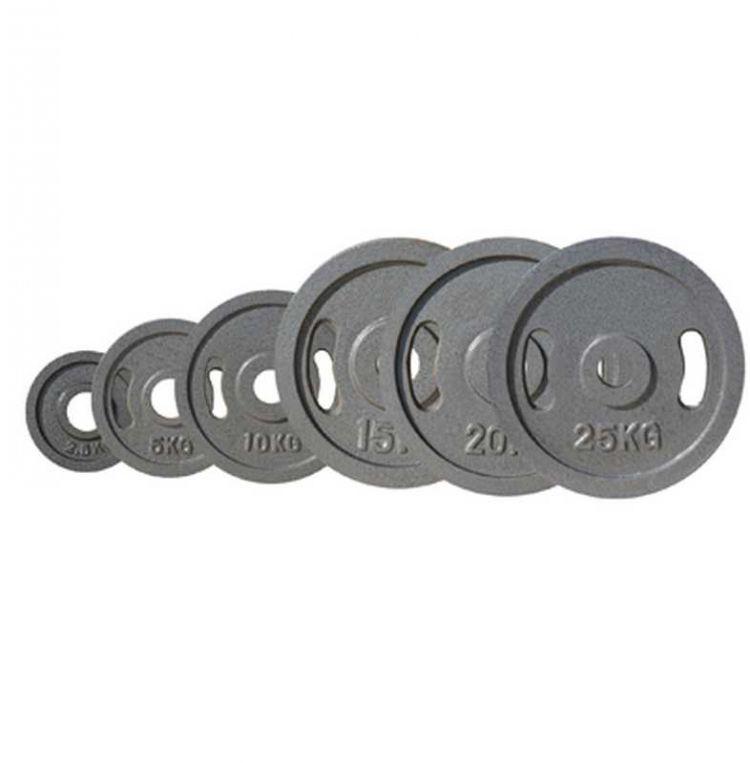 Диск олимпийский Johns 71027 серый металлический (1,25 кг)