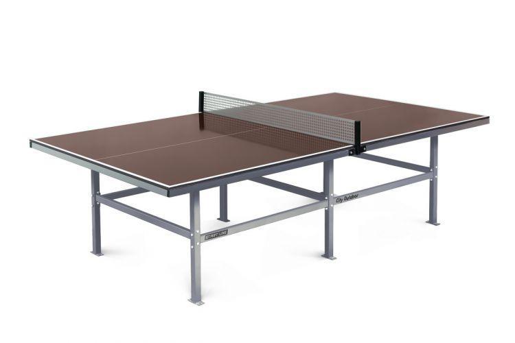 Теннисный стол для улицы Start Line City Outdoor с сеткой