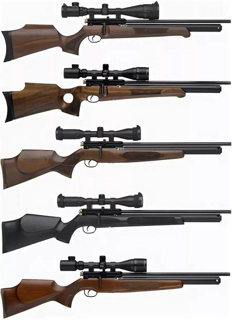 Пневматические винтовки и ножи