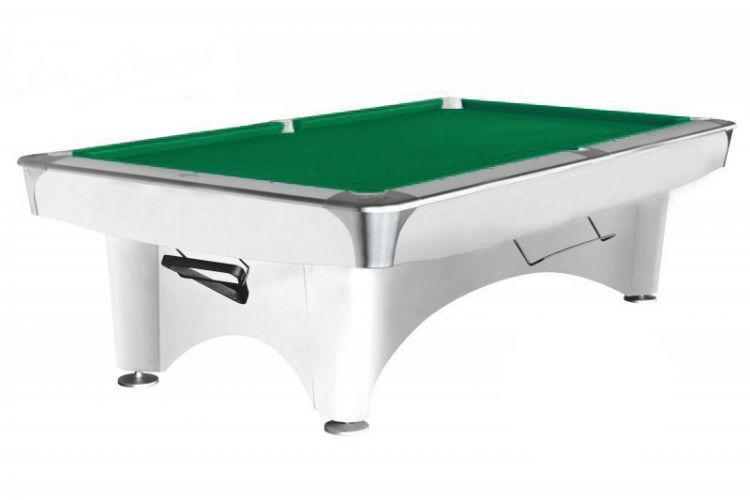 Бильярдный стол для пула Weekend Dynamic III 8 ф (белый)