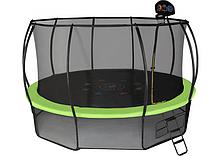 Батут Hasttings Air Game Basketball 15ft (4,6 м) с сеткой и лестницей